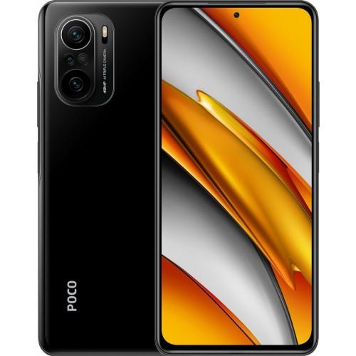 Xiaomi Poco F3 5G 8GB/256GB Night Black Dual Sim (Ελληνικό menu-Global Version) EU (ΔΩΡΟ ΠΡΟΣΤΑΤΕΥΤΙΚΟ ΤΖΑΜΙ ΟΘΟΝΗΣ ΚΑΙ ΠΙΣΩ ΚΑΜΕΡΑΣ)