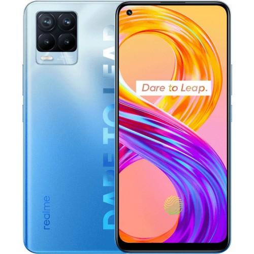 Realme 8 Pro (128GB) Infinite Blue (Ελληνικό menu-Global Version) EU