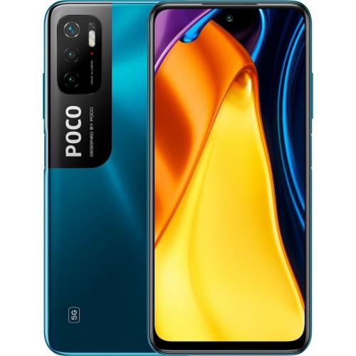 Xiaomi Poco M3 Pro 5G (128GB) Cool Blue (Ελληνικό menu-Global Version) EU (ΔΩΡΟ ΠΡΟΣΤΑΤΕΥΤΙΚΟ ΤΖΑΜΙ ΟΘΟΝΗΣ)