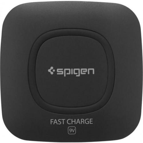 Spigen Essential Wireless Charging Pad (Qi) Μαύρο (F301W)