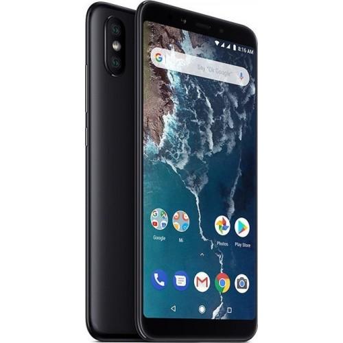 Xiaomi Mi A2 (128GB) Black (Δώρο τζαμάκι προστασίας οθόνης + Handsfree)