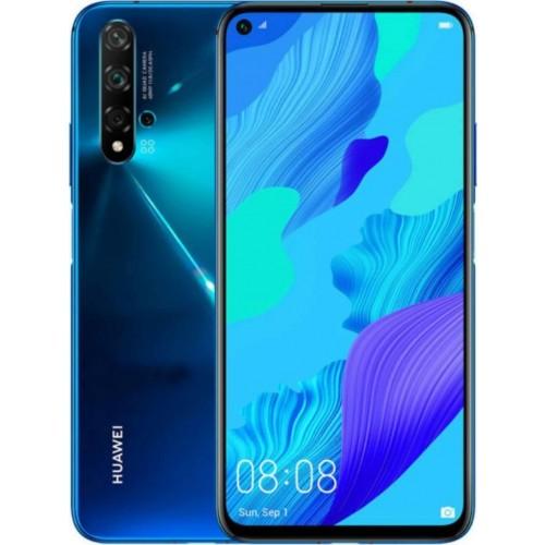 Huawei Nova 5T (6GB/128GB) Crush Blue Dual Sim (ΔΩΡΟ HANDSFREE)