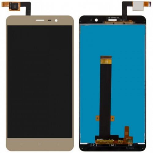Οθόνη Και Μηχανισμός Αφής Xiaomi Redmi Note 3 / Note 3 Pro Gold