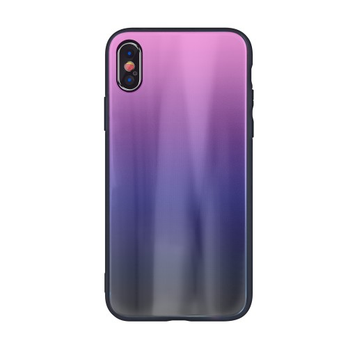 Θήκη Aurora Glass case για Xiaomi Redmi Note 8 Pro brown-black