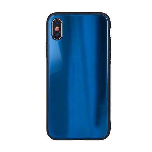 Θήκη Aurora Glass case για Xiaomi Redmi Note 8 Pro dark-blue