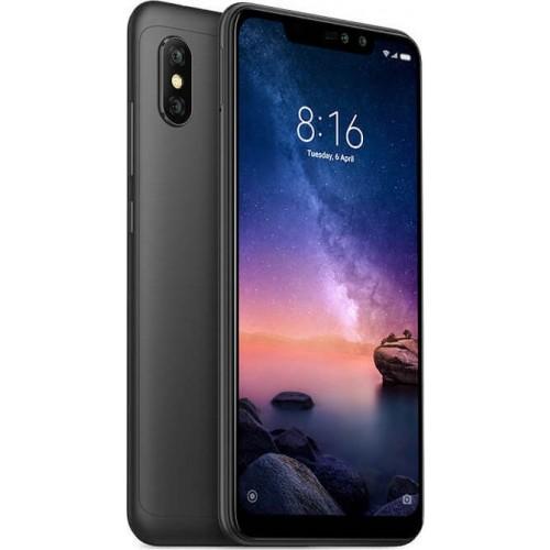 Xiaomi Redmi Note 6 Pro (32GB) Black (Ελληνικό Μενού - Global Version) - ΔΩΡΟ ΤΖΑΜΙ ΠΡΟΣΤΑΣΙΑΣ ΟΘΟΝΗΣ