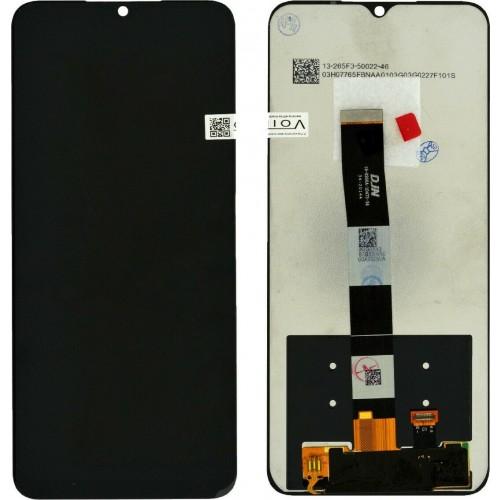 Οθόνη & Μηχανισμός Αφής Xiaomi Redmi 9 Μαύρο με Πλαίσιο OEM