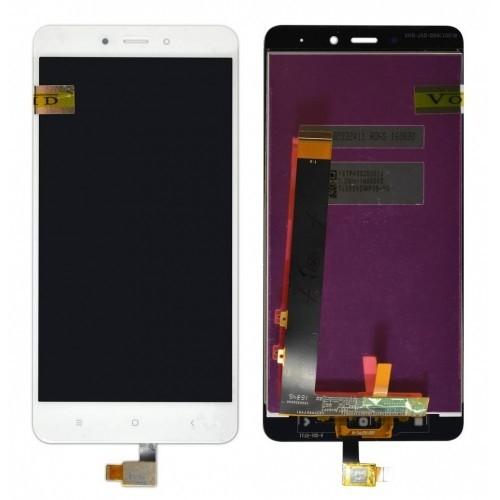Οθόνη Και Μηχανισμός Αφής Xiaomi Redmi Note 4 Mediatek White