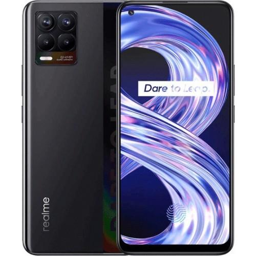 Realme 8 6GB/128GB Cyber Black (ΔΩΡΟ ΤΖΑΜΙ ΠΡΟΣΤΑΣΙΑΣ ΟΘΟΝΗΣ)