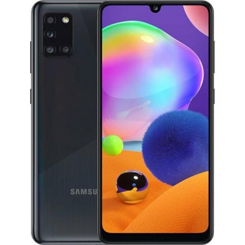 Samsung Galaxy A31 (4GB/64GB) Dual Sim Prism Crush Black EU (ΔΩΡΟ HANDSFREE)
