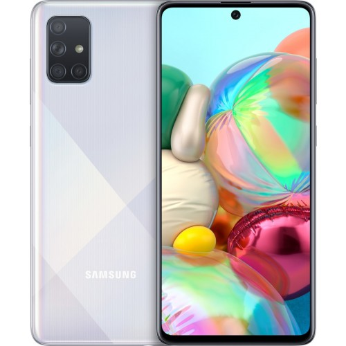 Samsung Galaxy A71 (128GB) Prism Crush Silver