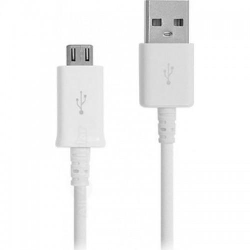 Samsung Regular USB 2.0 to micro USB Cable Λευκό 1m (ECB-DU4AWE)