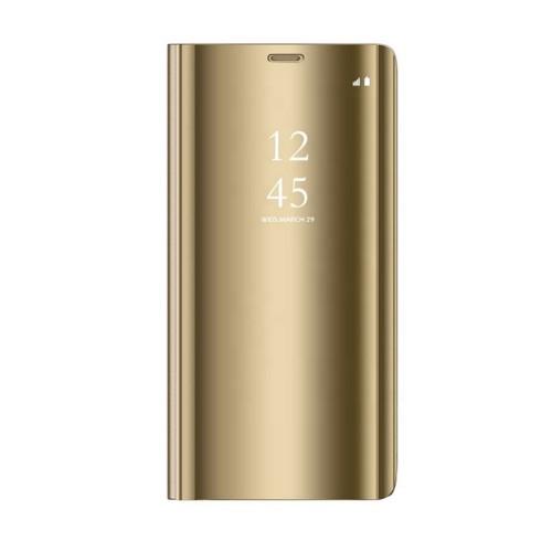 Θήκη Clear View Cover για Xiaomi Redmi Note 9S / 9 Pro - Χρυσό