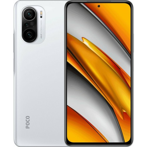 Xiaomi Poco F3 (128GB) Arctic White (Ελληνικό menu-Global Version) EU (ΔΩΡΟ ΠΡΟΣΤΑΤΕΥΤΙΚΟ ΤΖΑΜΙ ΟΘΟΝΗΣ ΚΑΙ ΠΙΣΩ ΚΑΜΕΡΑΣ)