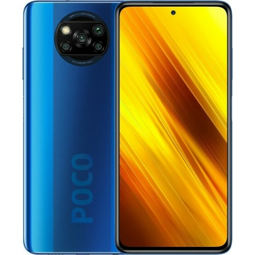 Xiaomi Poco X3 NFC 6GB/64GB Blue (Global Version) EU