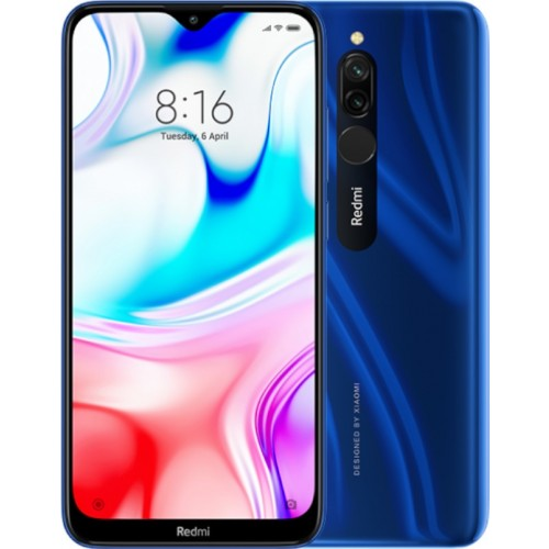 Xiaomi Redmi 8 (4/64Gb) Blue Global Version EU
