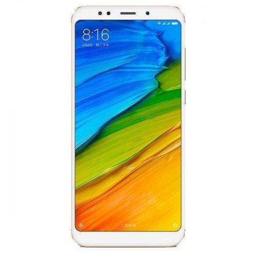 Xiaomi Redmi 5 Plus (32GB) Gold (Δώρο τζαμάκι προστασίας οθόνης)