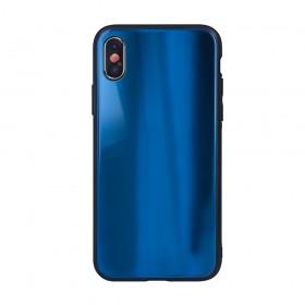 Θήκη Aurora Glass case για Xiaomi Redmi Note 8 Pro dark-blue