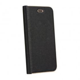 Θήκη flip Luna Book για Xiaomi Redmi Note 8 PRO μαύρη