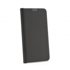Θήκη flip Luna Carbon για Xiaomi Redmi 8 μαύρη