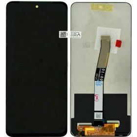 Οθόνη & Μηχανισμός Αφής Xiaomi Redmi Note 9S Μαύρο με Μεσαίο Πλαίσιο OEM Type A