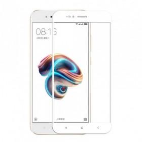 OEM Tempered Glass 9H 3D Full Glue Προστασία Οθόνης για Xiaomi Mi A1 - White