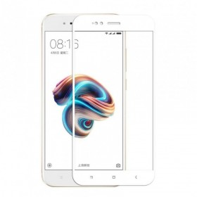 OEM Tempered Glass 9H 3D Full Glue Προστασία Οθόνης για Xiaomi Mi A1 - White