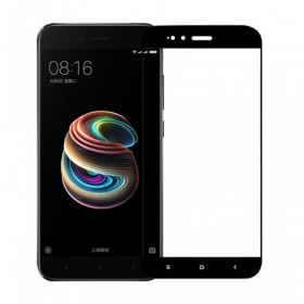 OEM Tempered Glass 9H 3D Full Glue Προστασία Οθόνης για Xiaomi Mi A1 - Black