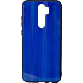 Θήκη Aurora Glass case για Xiaomi Redmi Note 8 Pro blue