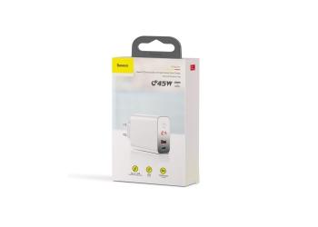 Baseus BS-EU907 Digital Display Quick Charge 4.0 - 3.0 USB Charger Smart Power-Off