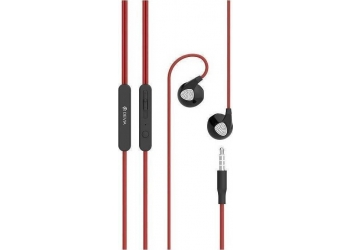 EarPods DEVIA DEVIA D2 Ripple red