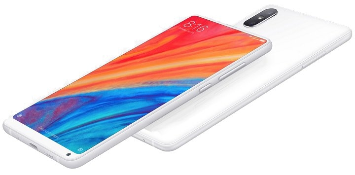xiaomi mi mix 2s behind